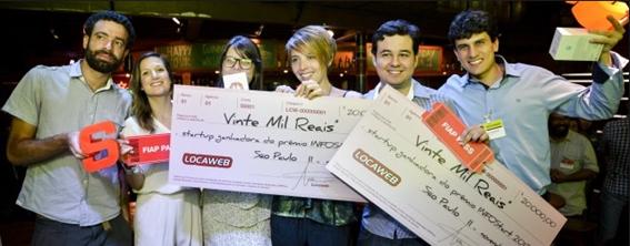 Prêmio recebido pela Max Milhas da Locaweb
