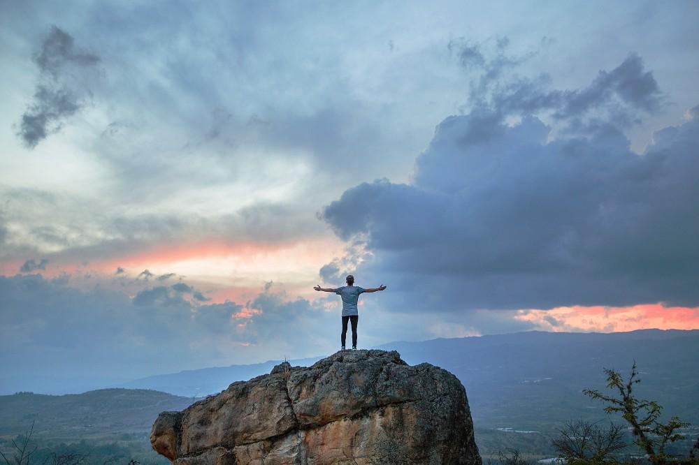 Sensação de liberdade ao livrar-se da ansiedade